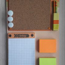 Diy Memo Board 6 214x214 - Coolest DIY Memo Board Ideas