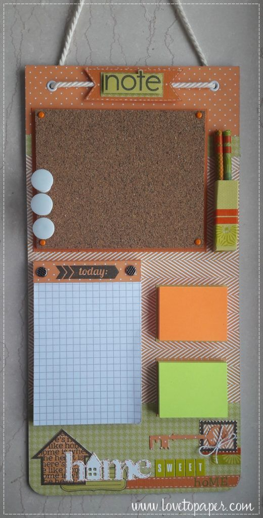 Diy Memo Board 6 - Coolest DIY Memo Board Ideas