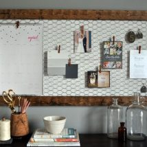 Diy Memo Board 8 214x214 - Coolest DIY Memo Board Ideas