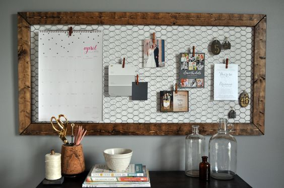 Diy Memo Board 8 - Coolest DIY Memo Board Ideas
