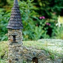 Diy Miniature Stone Houses 1 214x214 - Cutest DIY Miniature Stone House Ideas