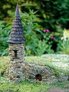 Diy Miniature Stone Houses 1 - Cutest DIY Miniature Stone House Ideas