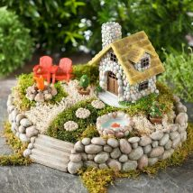 Diy Miniature Stone Houses 10 214x214 - Cutest DIY Miniature Stone House Ideas