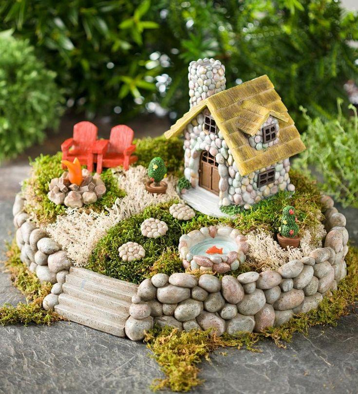 Diy Miniature Stone Houses 10 - Cutest DIY Miniature Stone House Ideas