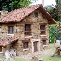 Diy Miniature Stone Houses 12 214x214 - Cutest DIY Miniature Stone House Ideas