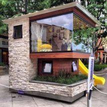 Diy Miniature Stone Houses 13 214x214 - Cutest DIY Miniature Stone House Ideas