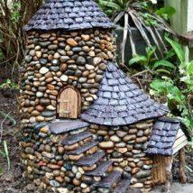 Diy Miniature Stone Houses 14 214x214 - Cutest DIY Miniature Stone House Ideas