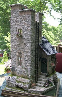 Diy Miniature Stone Houses 3 - Cutest DIY Miniature Stone House Ideas