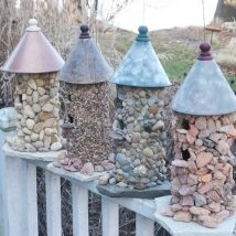 Diy Miniature Stone Houses 32 214x214 - Cutest DIY Miniature Stone House Ideas
