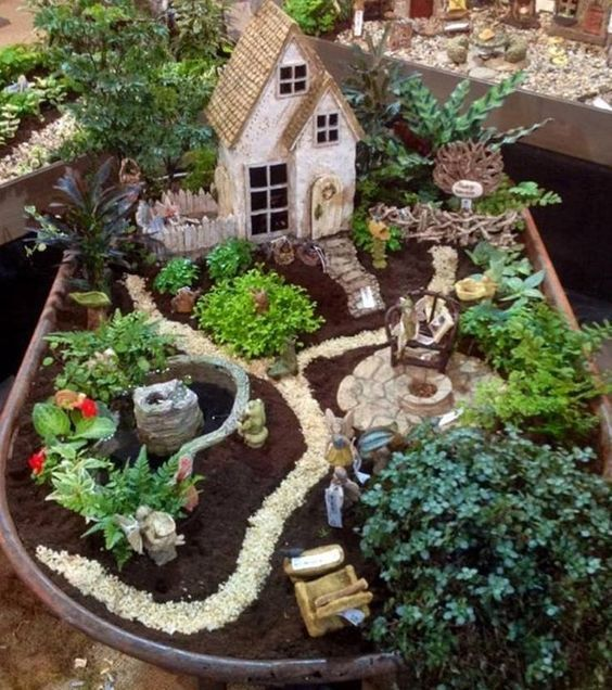 Diy Miniature Stone Houses 34 - Cutest DIY Miniature Stone House Ideas