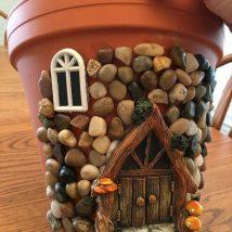 Diy Miniature Stone Houses 37 214x214 - Cutest DIY Miniature Stone House Ideas