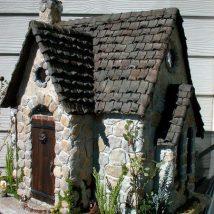 Cutest DIY Miniature Stone House Ideas