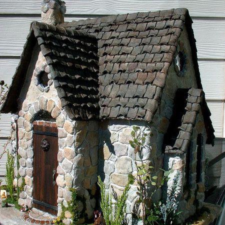 Diy Miniature Stone Houses 4 - Cutest DIY Miniature Stone House Ideas