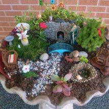 Diy Miniature Stone Houses 43 214x214 - Cutest DIY Miniature Stone House Ideas