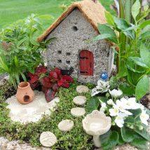 Diy Miniature Stone Houses 44 214x214 - Cutest DIY Miniature Stone House Ideas