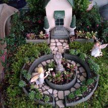 Diy Miniature Stone Houses 45 214x214 - Cutest DIY Miniature Stone House Ideas