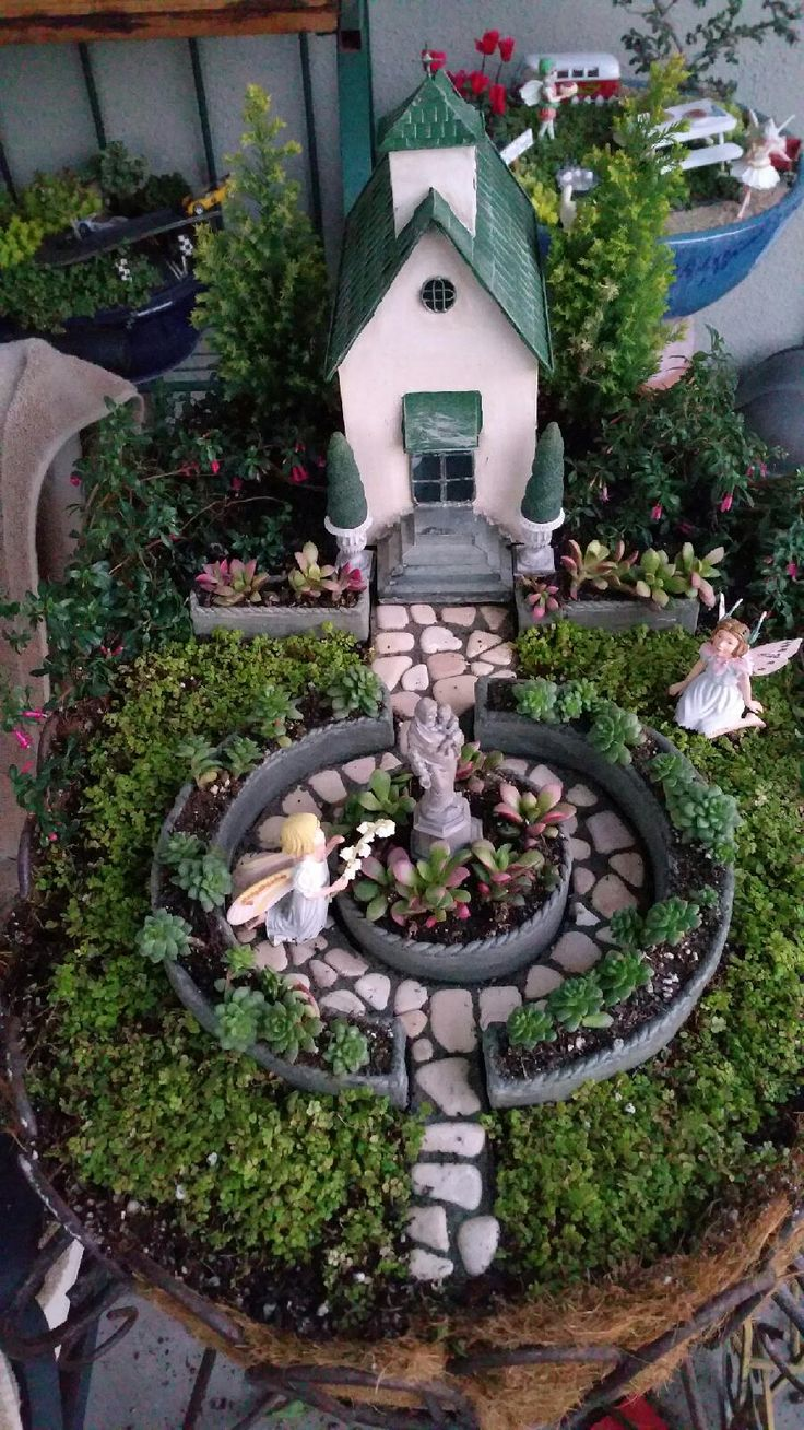Diy Miniature Stone Houses 45 - Cutest DIY Miniature Stone House Ideas