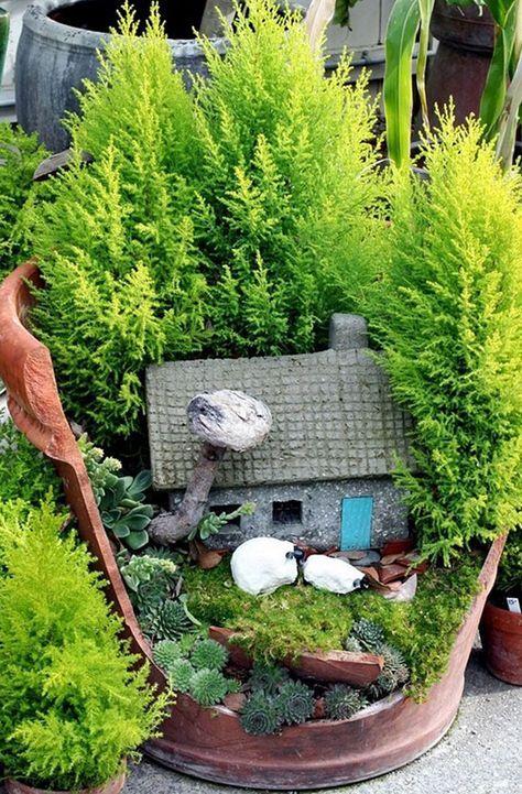 Diy Miniature Stone Houses 47 - Cutest DIY Miniature Stone House Ideas