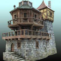 Diy Miniature Stone Houses 6 214x214 - Cutest DIY Miniature Stone House Ideas