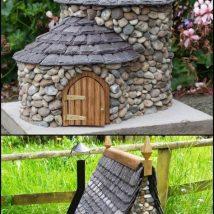 Diy Miniature Stone Houses 7 214x214 - Cutest DIY Miniature Stone House Ideas