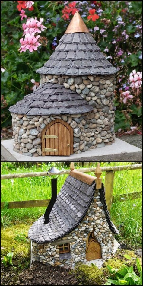 Diy Miniature Stone Houses 7 - Cutest DIY Miniature Stone House Ideas