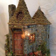 Diy Miniature Stone Houses 9 214x214 - Cutest DIY Miniature Stone House Ideas