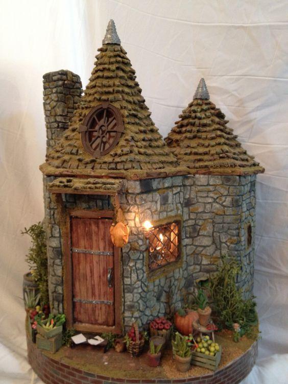Diy Miniature Stone Houses 9 - Cutest DIY Miniature Stone House Ideas