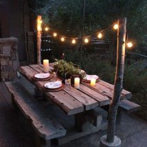 Diy Outdoor Lights 25 214x214 - 45+ Gorgeous and Easy DIY Outdoor Lighting Ideas