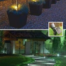 Diy Outdoor Lights 29 214x214 - 45+ Gorgeous and Easy DIY Outdoor Lighting Ideas