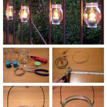 Diy Outdoor Lights 35 214x214 - 45+ Gorgeous and Easy DIY Outdoor Lighting Ideas