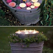 Diy Outdoor Lights 43 214x214 - 45+ Gorgeous and Easy DIY Outdoor Lighting Ideas