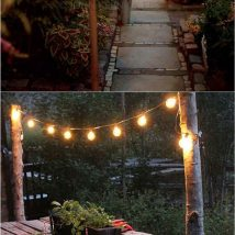 Diy Outdoor Lights 45 214x214 - 45+ Gorgeous and Easy DIY Outdoor Lighting Ideas
