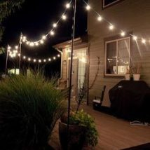 Diy Outdoor Lights 8 214x214 - 45+ Gorgeous and Easy DIY Outdoor Lighting Ideas
