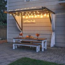 Diy Outdoor Lights 9 214x214 - 45+ Gorgeous and Easy DIY Outdoor Lighting Ideas