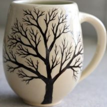 Diy Painted Mugs 1 214x214 - Top DIY Painted Mugs Ideas