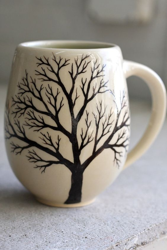 Diy Painted Mugs 1 - Top DIY Painted Mugs Ideas