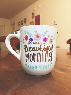 Diy Painted Mugs 10 - Top DIY Painted Mugs Ideas