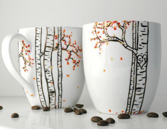 Diy Painted Mugs 12 - Top DIY Painted Mugs Ideas