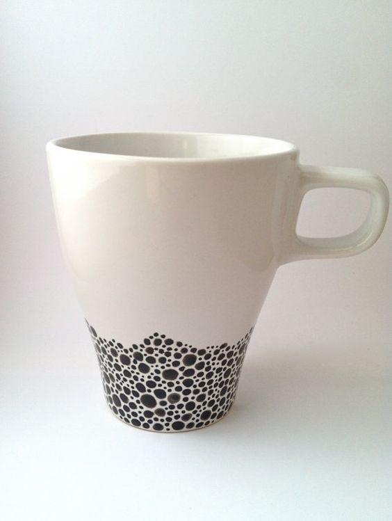 Diy Painted Mugs 13 - Top DIY Painted Mugs Ideas