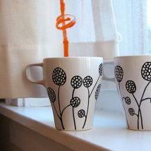 Diy Painted Mugs 14 214x214 - Top DIY Painted Mugs Ideas