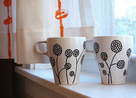 Diy Painted Mugs 14 - Top DIY Painted Mugs Ideas