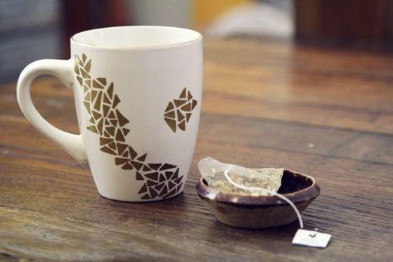 Diy Painted Mugs 16 - Top DIY Painted Mugs Ideas