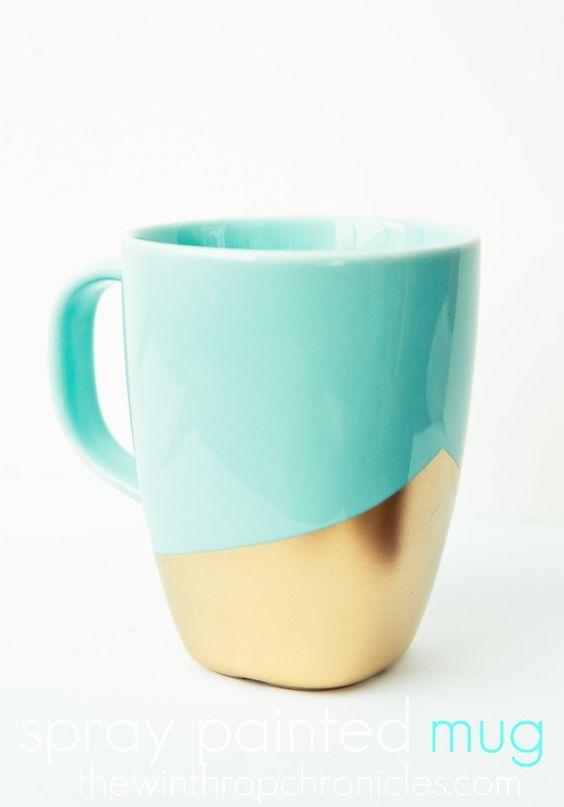 Diy Painted Mugs 18 - Top DIY Painted Mugs Ideas