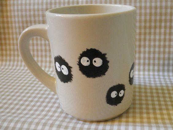 Diy Painted Mugs 19 - Top DIY Painted Mugs Ideas