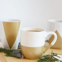 Diy Painted Mugs 20 214x214 - Top DIY Painted Mugs Ideas