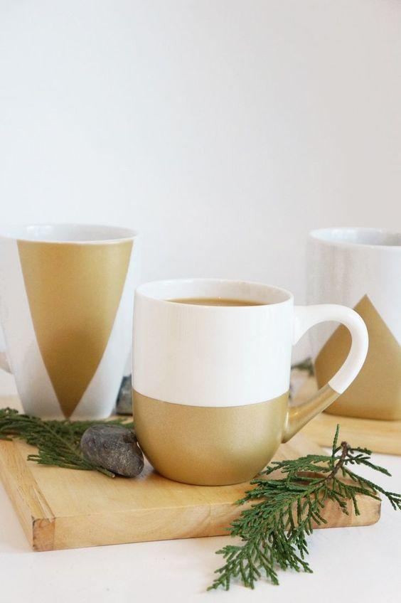 Diy Painted Mugs 20 - Top DIY Painted Mugs Ideas