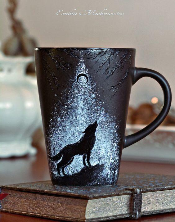 Diy Painted Mugs 21 - Top DIY Painted Mugs Ideas