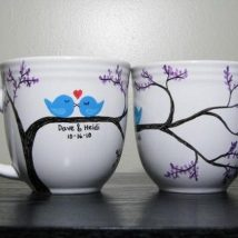 Diy Painted Mugs 23 214x214 - Top DIY Painted Mugs Ideas