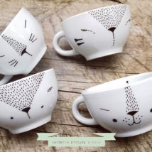 Diy Painted Mugs 27 214x214 - Top DIY Painted Mugs Ideas