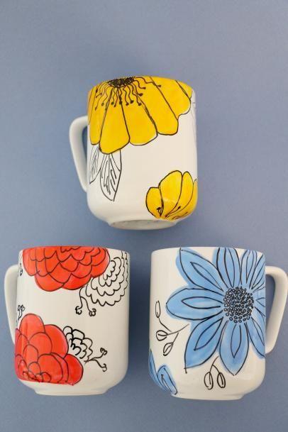Diy Painted Mugs 3 - Top DIY Painted Mugs Ideas